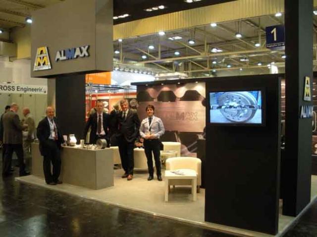 Alumat Almax at Aluminium 2012