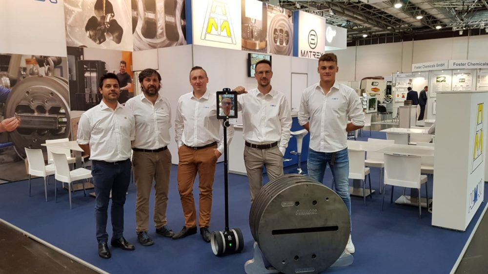 Alumat Almax Group at Aluminium Dusseldorf 2018